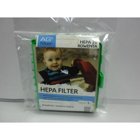AG filter HEPA 20 Rowenta