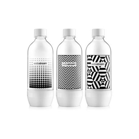 Fľaša tri pack 1L Black&White