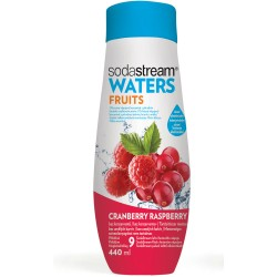 Sirup Waters Plus Cranberry