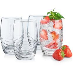 Sodastream poháre sklenené 4x330ml
