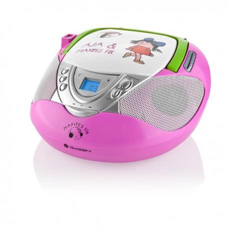 GoGen Maxi rádio pink