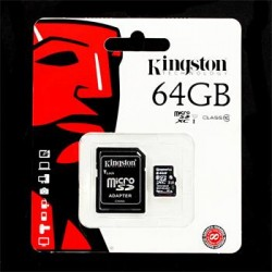 Kingston micro SDHC 64GB
