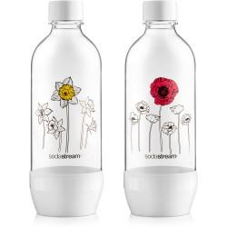 Fľaša duo pack 1L kvetiny